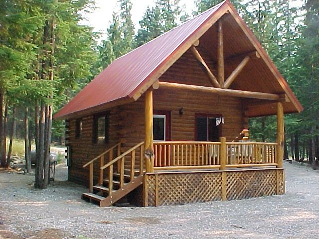 Sha bear cabin on the yaak river quiet romantic cabin for Romantic big bear cabins