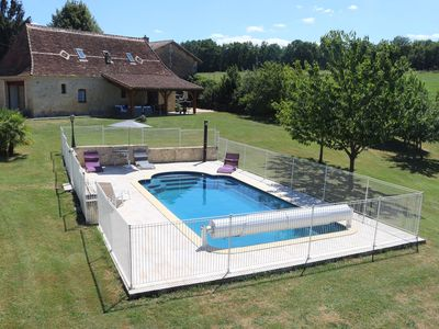 Photo for Perigourdine of character with private swimming pool