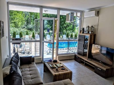 Photo for Kale Summer life quite cozy apartment with direct entrance to the swimming pool