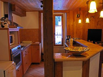 (Text automatically translated) Near Chamonix Mont Blanc apartment comfort 3Stars 90m ²