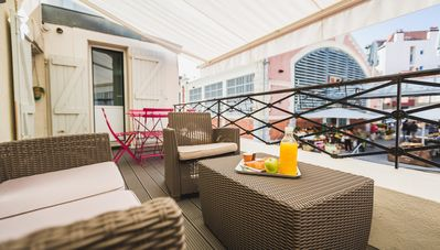 Photo for KEYWEEK Apartment at Biarritz Market, Terrace, Close to the Beach, Parking