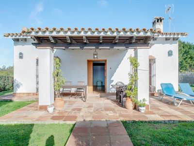 """Photo for Spacious Holiday Home """"Cortijo El Refugio 1"""" with Garden, Terrace & Shared Pool; Parking Available"""