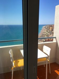 Photo for Exceptional view in first line of sea at 2 minutes from the city center