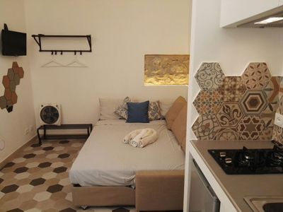 Photo for Small Studio near the Cathedral of Cefalù for two people.