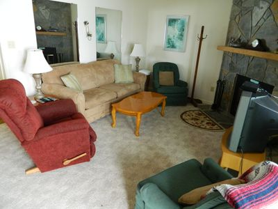 Photo for Walk to the Slope from this Cozy 2 Bedroom Condo