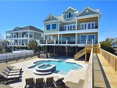 Photo for Luxurious Oceanfront Home With Swimming Pool, Hot Tub, Elevator & Movie Theater