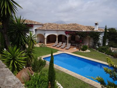 Photo for LUXURIOUS SEA VIEW VILLA IN THE TOSALET AREA
