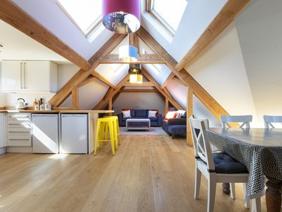 Photo for Baker's Gallery, 3 bed apartment; Salcombe town