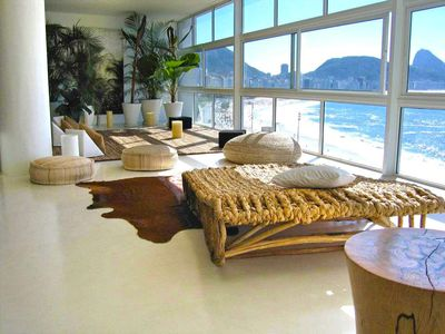 Photo for OCEANFRONT LUXURY COPACABANA BEACH