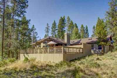Exterior - Welcome to Sunriver! This winter getaway is professionally managed by TurnKey Vacation Rentals.