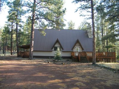 Photo for Hibernation Hideaway Rustic Cabin In The Forest