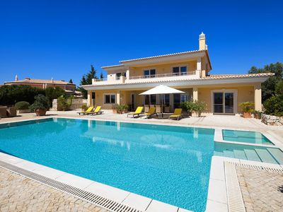 Photo for Luxury Villa on a top location with 4 bedrooms, panoramic sea views, private pool