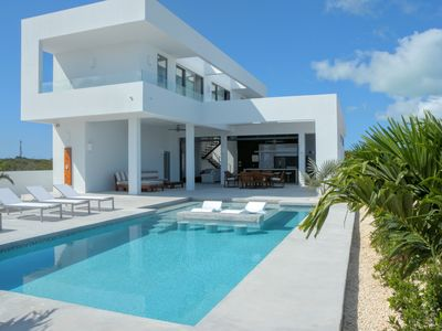 Photo for Ultra Modern Villa, 500 ft from Long Bay Beach - Much more than a villa, see why