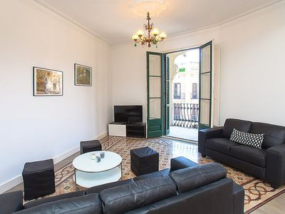 Photo for 5BR Apartment Vacation Rental in Barcelona