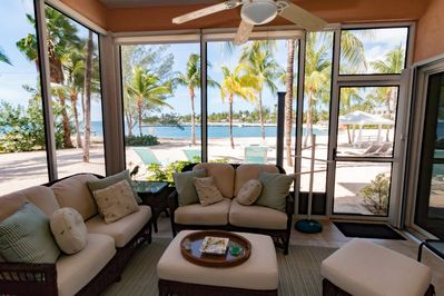 Relax on the Lanai. The View from Kaibo C24 is one of the best!