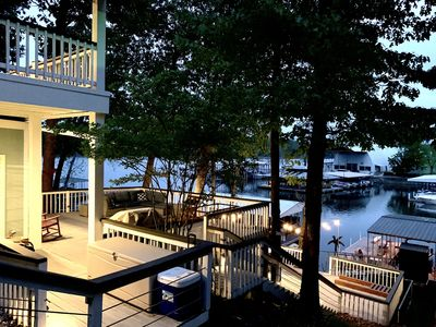 Photo for Lakefront on South Grand with Private Dock & Boat Slip! Sleeps 10.