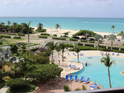 Photo for New Beachfront Oceanview 3bd 3ba Luxury Penthouse w/private roof top terrace