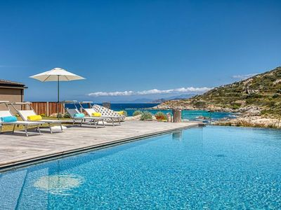 Photo for L'Ile-Rousse Holiday Home, Sleeps 10 with Pool and WiFi