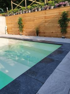 Photo for Apartment with swimming pool and garden