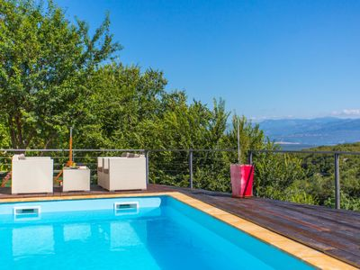 Photo for 4 bedroom Villa, sleeps 8 in Dobrinj with Pool, Air Con and WiFi