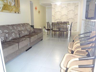 Photo for Apt in condominium Luxurious, for 6 people, with leisure area complete