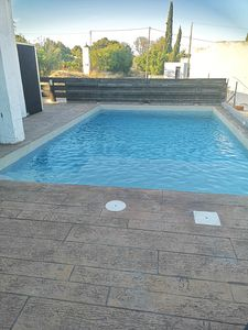Photo for CHALET with private pool, solarium and huge terrace with barbecue.