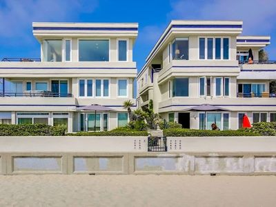 Photo for Best Mission Beach Location - Watch volleyball players, surfers, swimmers from this Beach Home