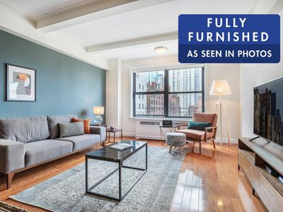 Photo for Sharp UES 2BR w/Indoor pool, Doorman + City views by Blueground