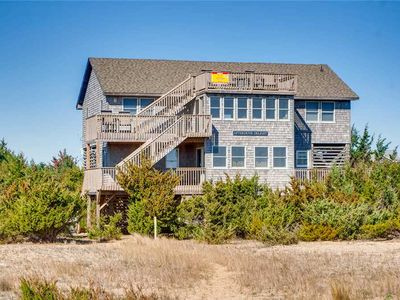 Photo for Delightful Oceanfront Home, Salvo- Hot Tub, Game Rm, Dog-Friendly, Walk to Beach