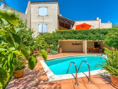 Photo for Cozy Holiday Home in Cogolin with Private Pool