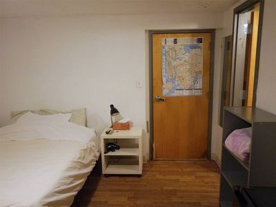 Photo for a room w/bath, one block away from JSQ subway