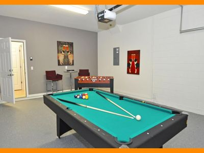 Photo for Watersong Resort 10 - Modern villa with private pool and game room