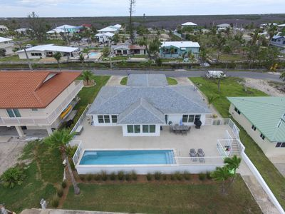 Photo for Classy Coastal Oceanfront Home -Free WIFI- Private heated pool- Kayak- BBQ Grill