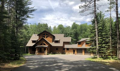 Photo for ONE OF A KIND LOG HOME LUXURY