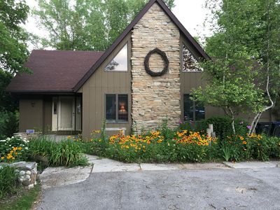 Photo for Walk to Road America! Private Peninsula on Little Elkhart Lake.