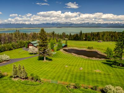 Photo for Dude ranch style property overlooking flathead lake