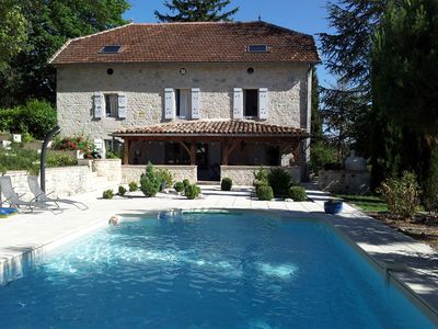 Photo for Stone Farmhouse in the heart of Quercy Blanc amongst the sunflower fields