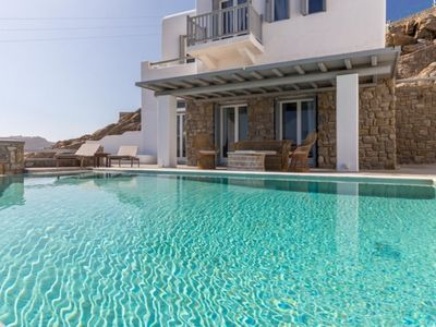 Photo for Villa Identity 2 Mykonos Private Pool 4br upto 11guests