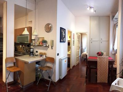 Photo for Very well connected. Situated 2. 9 km from Trastevere. very quiet and green