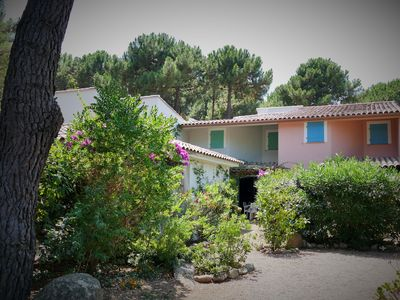 Photo for Air-conditioned villa, Welcoming & neat, 250m from the beach of Saint Cyprien,