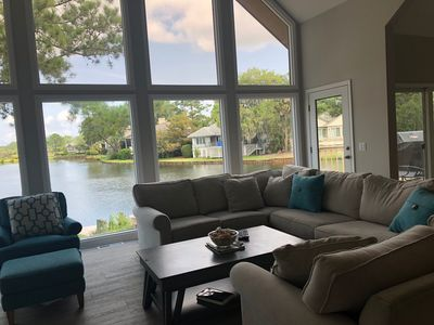 Photo for $1M Water View - Completely renovated Sea Pines Gem