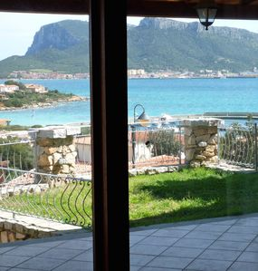 Photo for Apartment/ flat with garden and wonderful view over the Sea