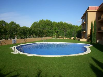 Photo for Apartment Golf Mar - close to two excellent beaches