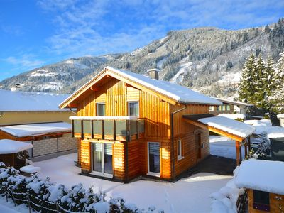 Photo for Chalet Seven-modern, Austrian blockhouse with its own garden and a wonderful terrace