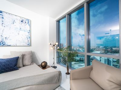 Photo for Elite Sky Tower Miami - Modern Condo in New High Rise with Luxury Amenities