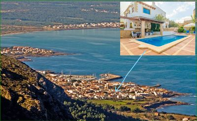Photo for House with 5 rooms, swimming pool, garden, barbecue, wifi, Sattelite TV.