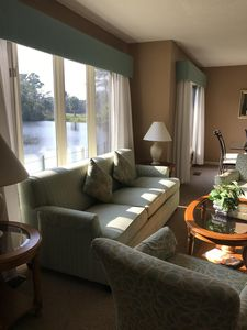 Photo for Gorgeous Lagoon Views  From Every Room! 2 Blocks from Beach & Best Location!