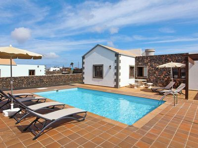 Photo for Holiday homes, Lajares - La Oliva  in Fuerteventura - 6 persons, 3 bedrooms