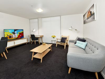 Photo for Fully furnished one bedroom Apt 703/11-17 Cohen Place,Melbourne