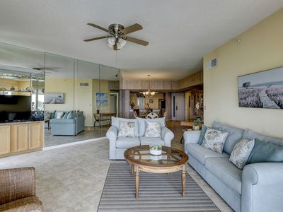 Photo for Oceanfront penthouse w/ unmatched views & shared pool, hot tub & tennis!